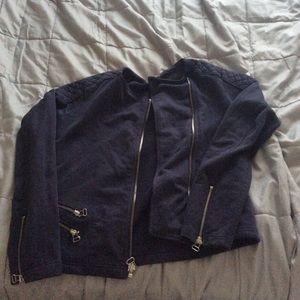 All Blue Gap Size Medium Jacket
